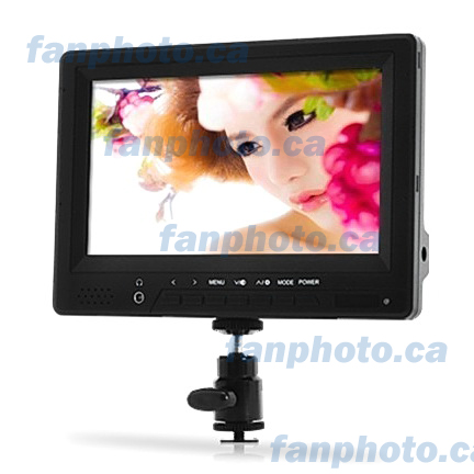 "7"" HD 1080p Moniteur For DSLR & HD Video Camera w HDMI In (678)"